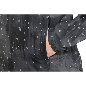 The North Face Stormy Trail Jas Dames, tnf black reflective firefly print